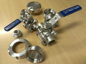 Een aantal CCT onderdelen bij elkaar.