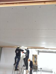 Nieuw plafond