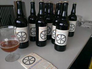 Flessen met etiket Otto II van Gelre
